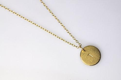 """Kæde til """"Bubble Tags"""" 45-90cm, Forgyldt Sølv."""