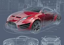 bigstock-Sports-car-blueprint-Original-3