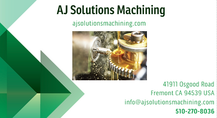 AJ Solutions Machining providing a customs plastic fabrication by PRECISION CNC MACHINING