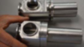 CNC manufacturing acrylic plastic 5 axis machining Monlo Park CA