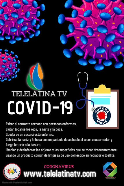 Copy of Covid-19 Poster - Hecho con Post