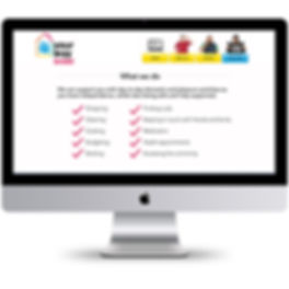 CUSTOMISED HOMEPAGE DESIGN LEARNING DIFFICULTIES EASY READ WEB DESIGNER BRISTOL