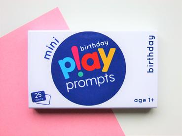 BIRTHDAY PLAYPROMPTS MINI PACK £6.25
