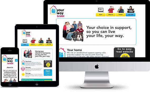 YOURWAYBRISTOL WEBSITE DESIGN CUSTOM MADE CUSTOMISED EASY READ WEB DESIGN BY HELEN GAME GRAPHIC DESIGNER