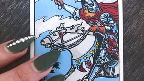Daily Meditation Reading: Knight of Swords