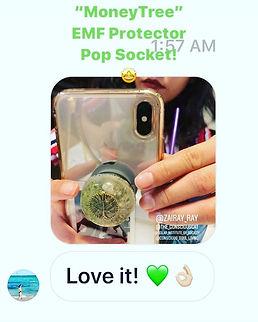 MONEY TREE EMF PROTECTOR POP SOCKET!!!!