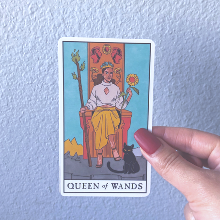 Daily Meditation: Queen of Wands