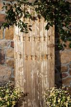 Barn Door Place Card Display