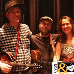 Trifolium is made up of three outstanding local musicians: Andy Mueller (guitar, fiddle, mandolin, octave mandolin, vocals), Chloe Powell (fiddle, cello, vocals) and Justin Park (guitar, mandolin, octave mandolin, vocals).
