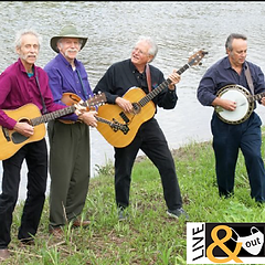 Decades in the making, the VT Bluegrass Pioneers is an idea whose time has come. Audiences learned quickly that their ardor had never cooled. Still rooted in the hard-driving tradition of first-generation bluegrass, the Pioneers share lead and harmony vocals, and in a unique twist Dan and Danny alternate on banjo and rhythm guitar. Their goal is to find the heart and soul of every song they perform and deliver it with passion to their listeners.