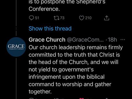 Grace Community Church Postpones Shepherds Conference