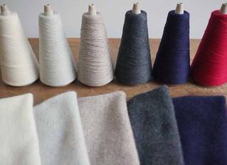 【募集終了】AND WOOL 編み機で作るカシミアストールのワークショップ
