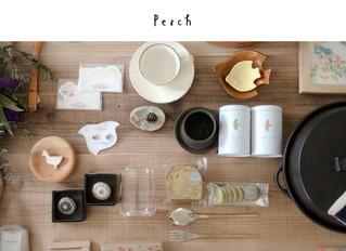Perch公式オンラインショップ開設