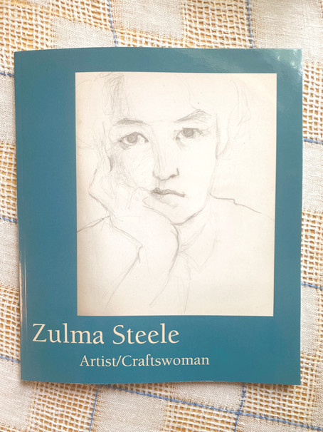 Zulma Steele: Artist/Craftswoman: A Co-Curator's Brief View