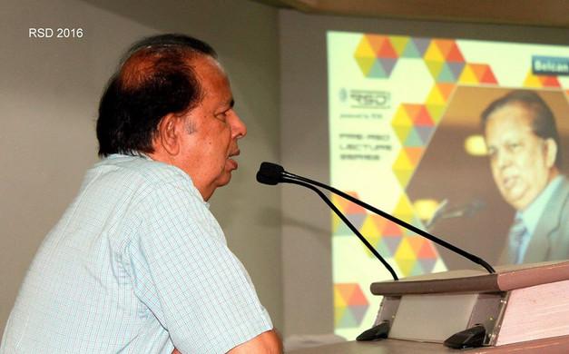 Speech by G Madhavan Nair
