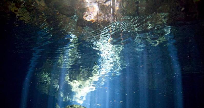 Cenote Taj Mahal