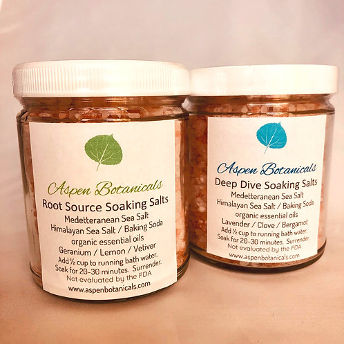Aromatherapy Soaking Salts