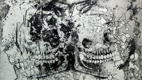 第11回ルーマニア国際現代版画ビエンナーレ2015 入選,作品収蔵(ルーマニア)