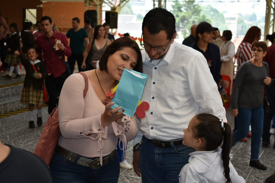Papá y mamá, un solo corazón