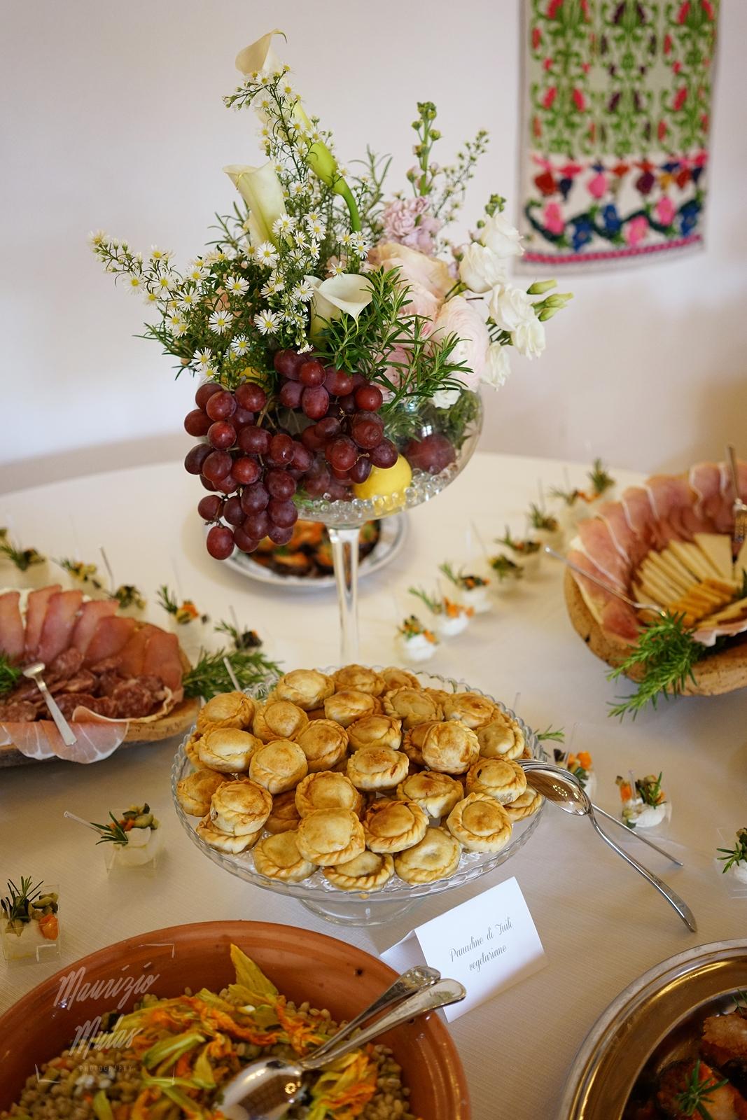 buffet matrimonio