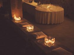 Candele Matrimonio Villa Asquer Tuil