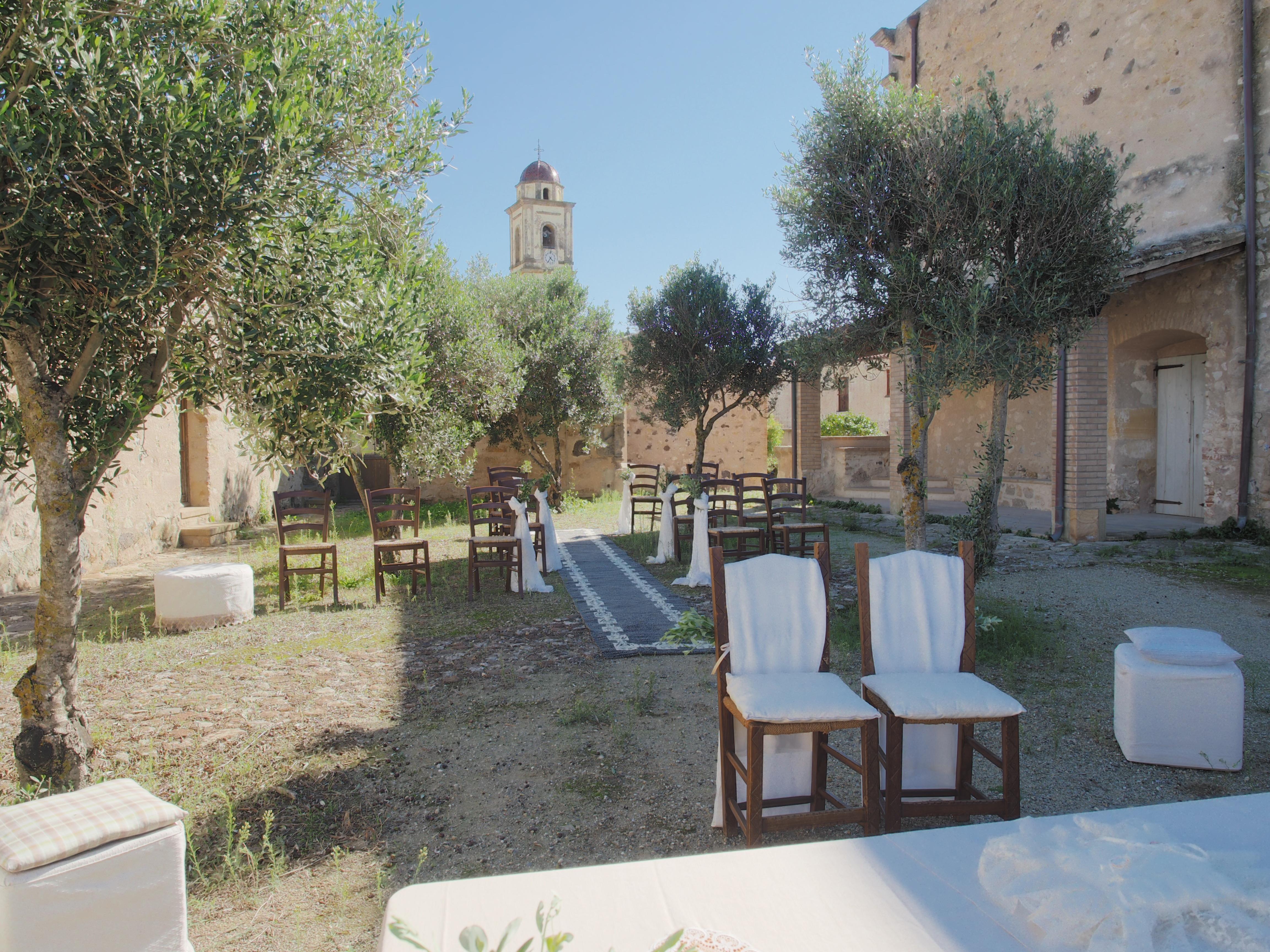Matrimonio all'aperto Sardegna