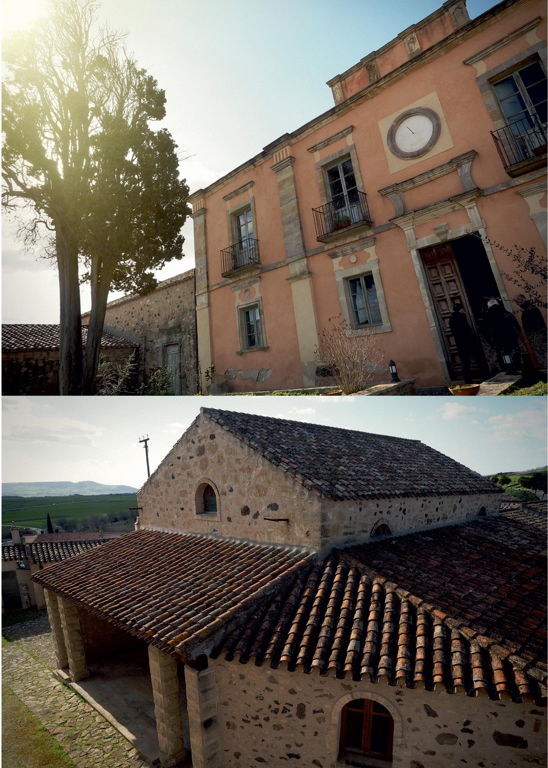 Villa Asquer facciata