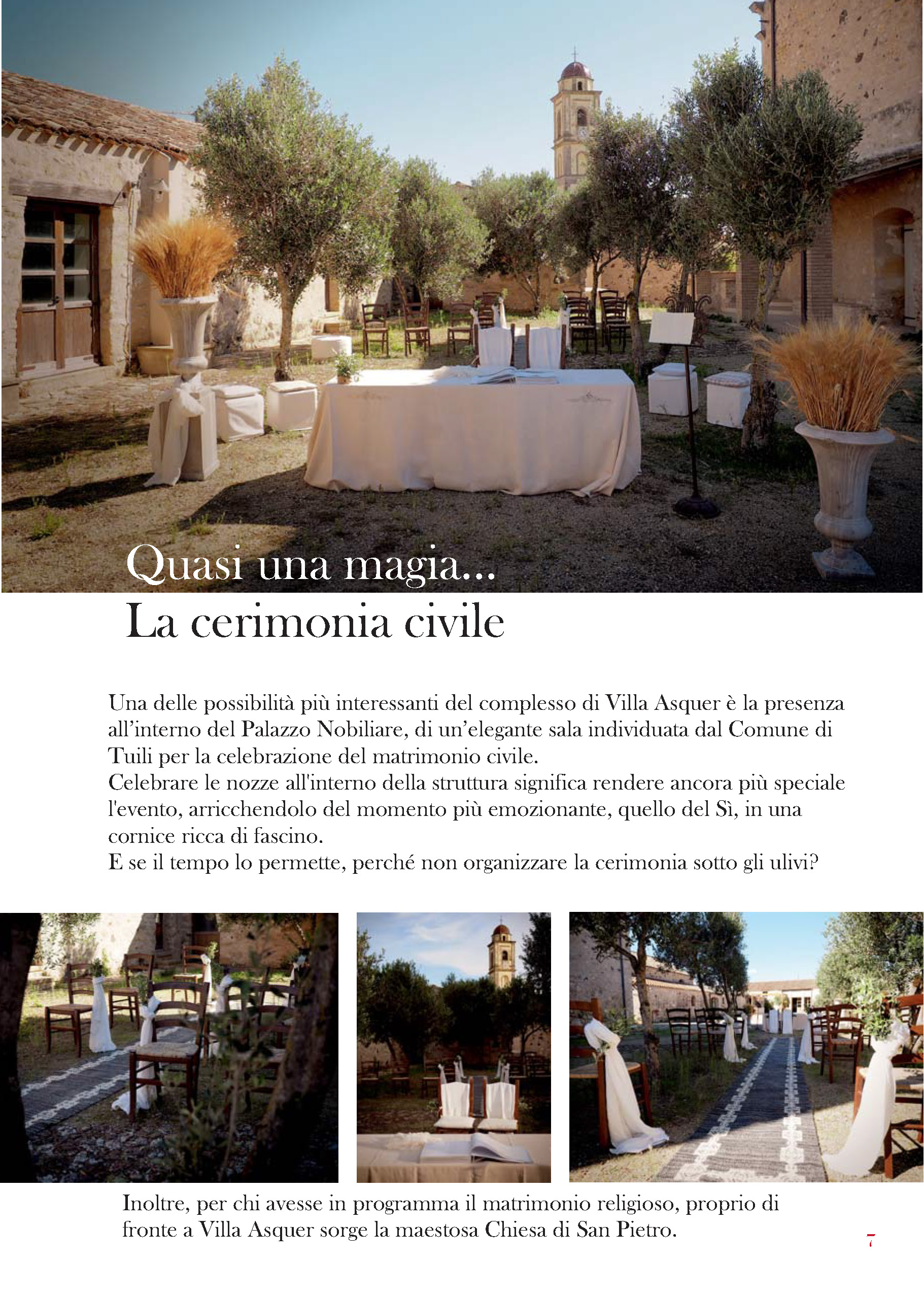 Celebrazione matrimonio all'eprto