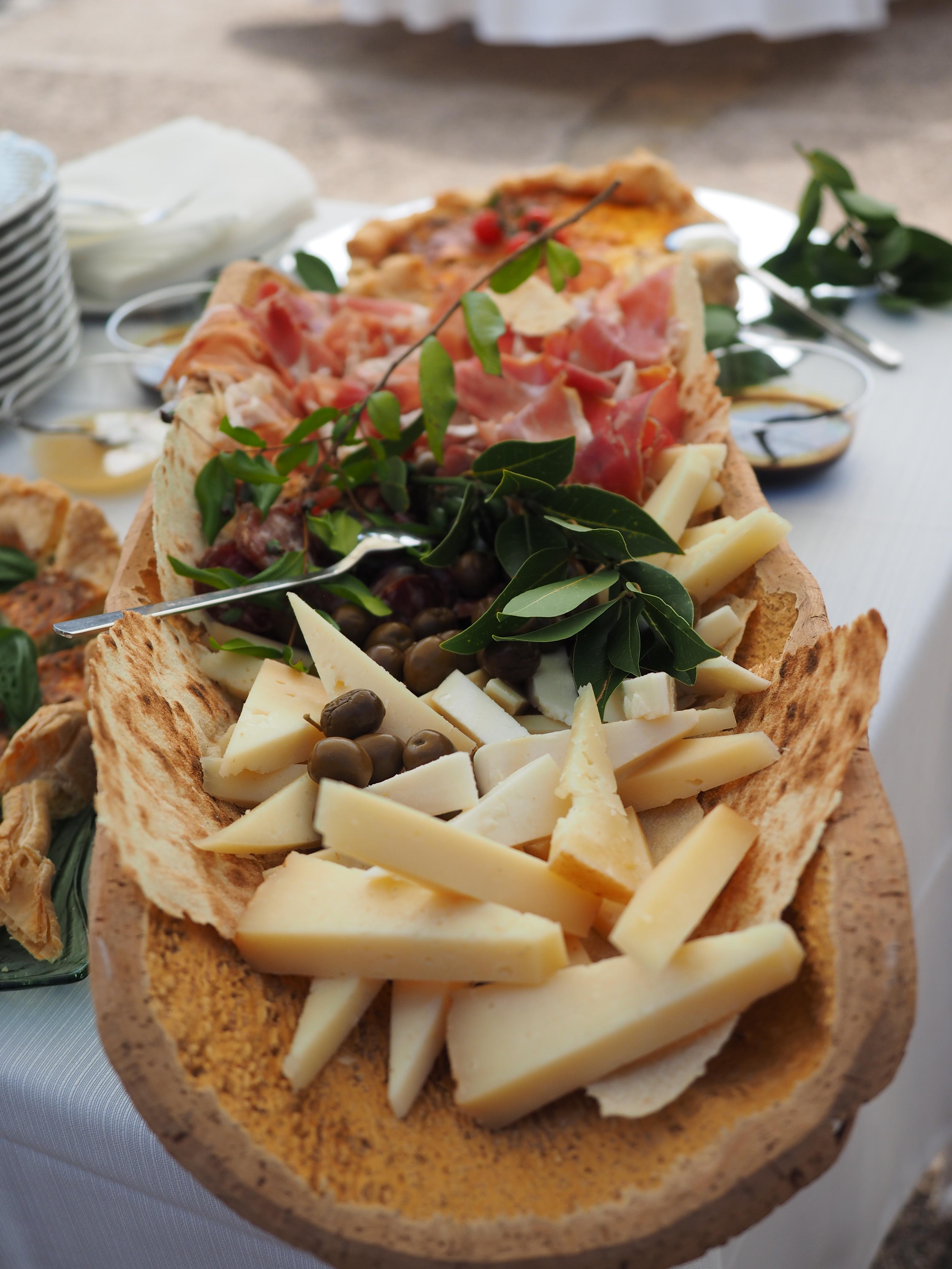 Degustazione salumi e formaggi