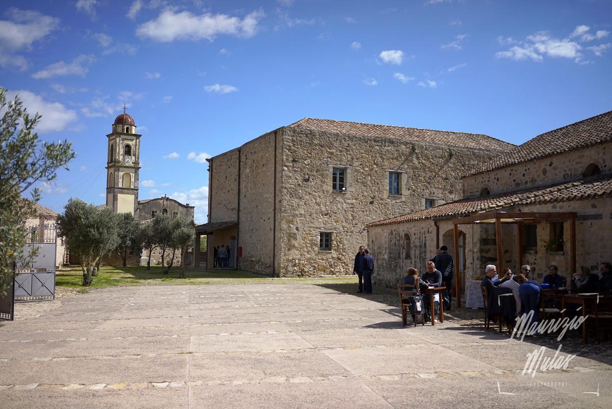 la vista sulla chiesa di S.Pietro