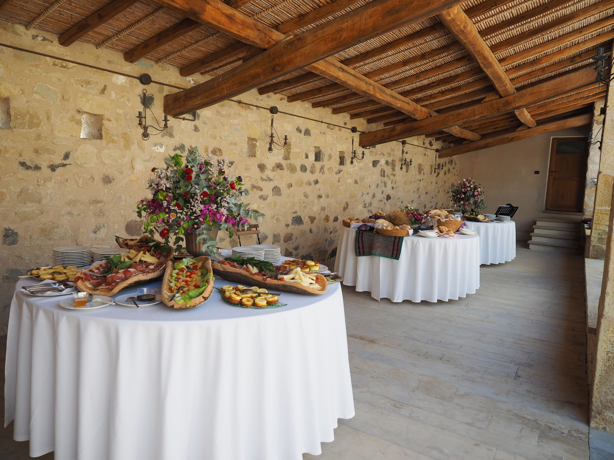 Buffet aperitivi matrimonio