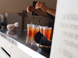 Open bar Villa Asquer