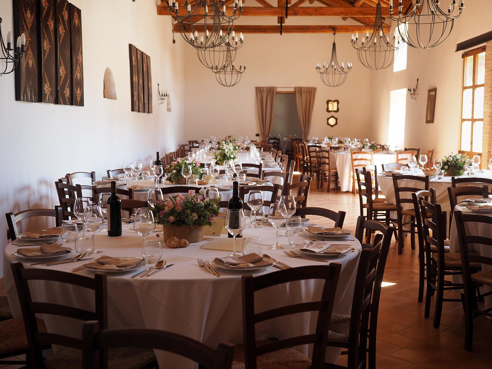 Sala ricevimenti Villa Asquer Tuili