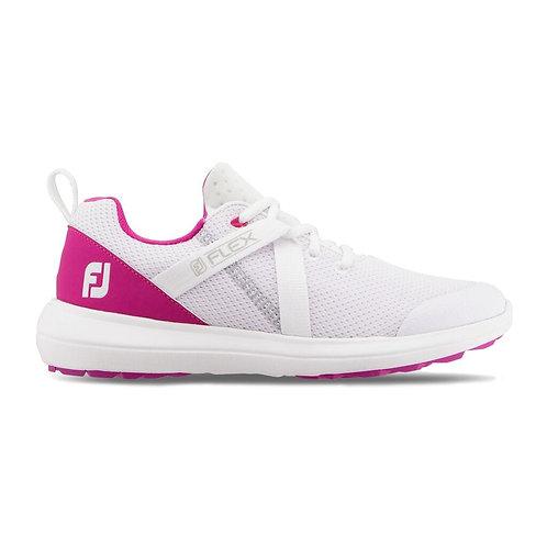 FootJoy Ladies Flex - White/Rose