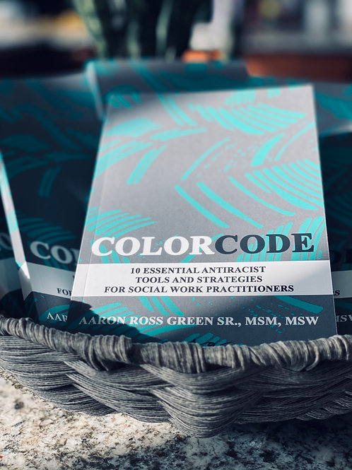 The Color Code - signed paperback book
