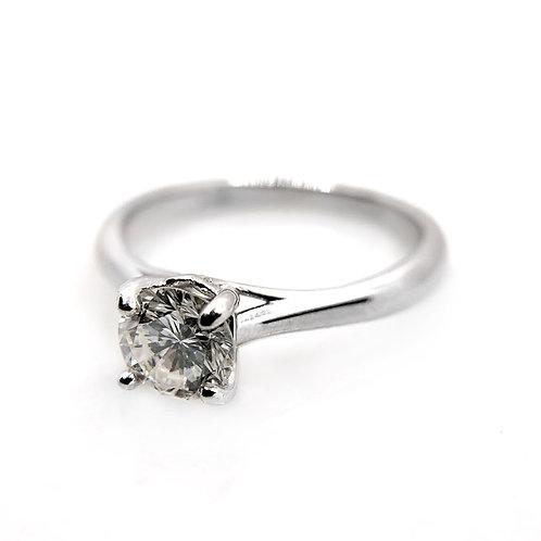 14k .76ct Diamond Engagement Ring