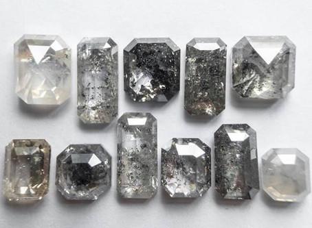 What are Salt & Pepper Diamonds?