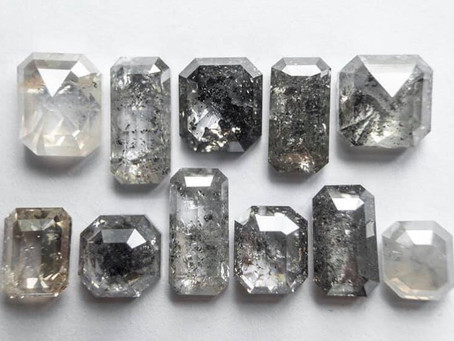 What are Salt & Pepper Diamonds?