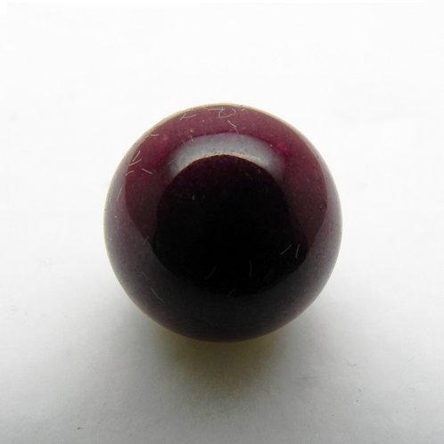 12mm Burgundy Agate