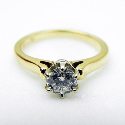 14k .60ct Diamond Engagement Ring