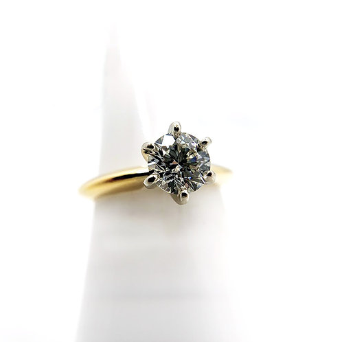 14k 1.00ct Diamond Engagement Ring