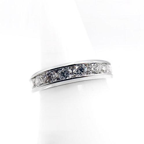 14K 1.00cttw Diamond Wedding Band