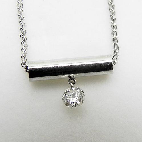 14k Dashing Diamond Pendant