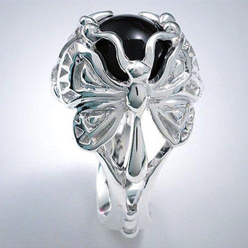 """Classic Art Deco """"Butterflies"""" Ring"""