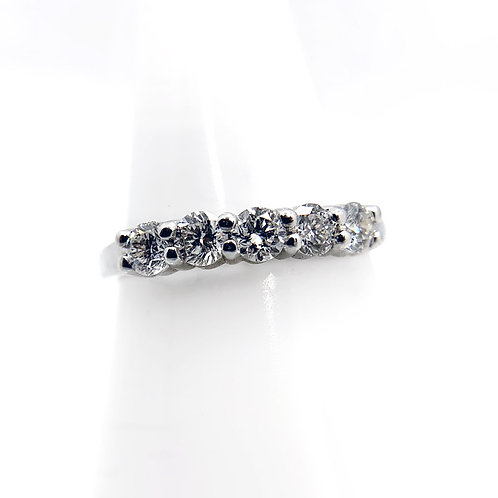 14K 0.75cttw Diamond Wedding Band