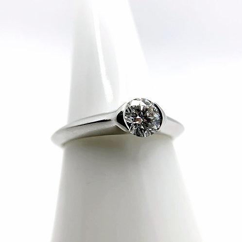 Platinum .52ct Diamond Engagement Ring