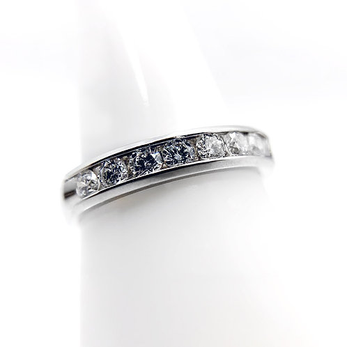 14K .77cttw Diamond Wedding Band
