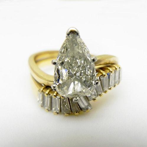 18k Diamond Engagement Set [ESTATE]