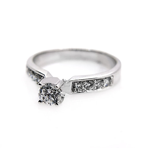 14k .51cttw Diamond Engagement Ring