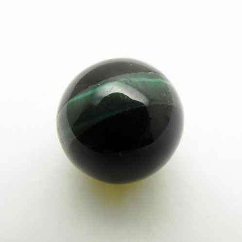 Onyx and Malachite Striped